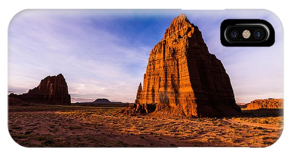 Cathedral Rock iPhone Case - Cathedral Temples by Chad Dutson