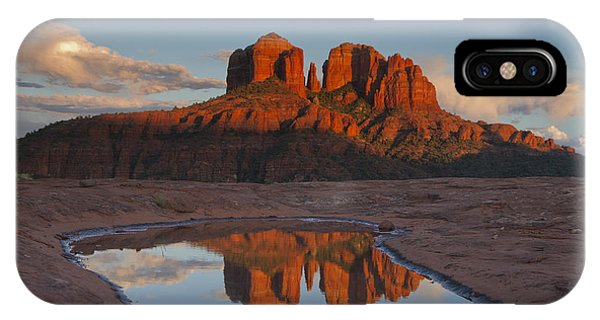 Cathedrals' Reflection IPhone Case