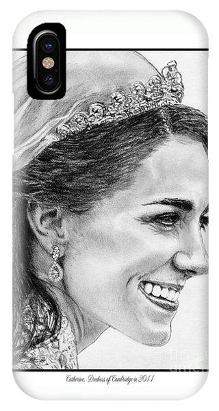 Catherine - Duchess Of Cambridge In 2011 IPhone Case