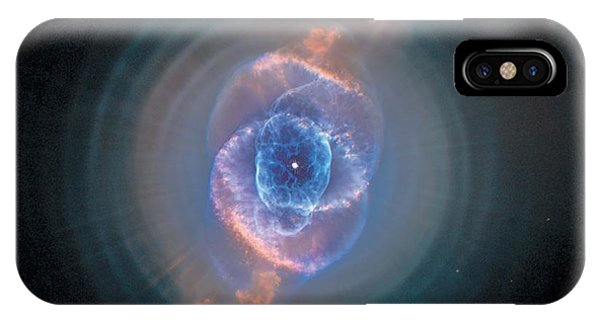 Endless iPhone Case - Cats Eye Nebula - Ngc 6543  by Celestial Images
