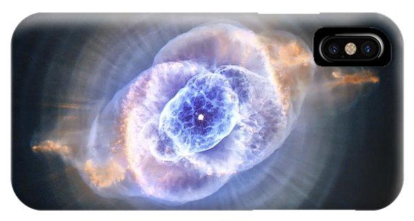 Cat's Eye Nebula IPhone Case