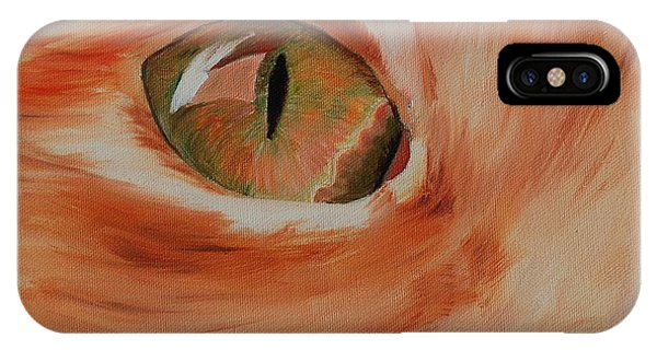 Cat's Eye IPhone Case