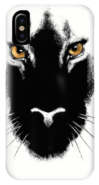 Leopard iPhone Case - Cat's Eyes by Aaron Blaise