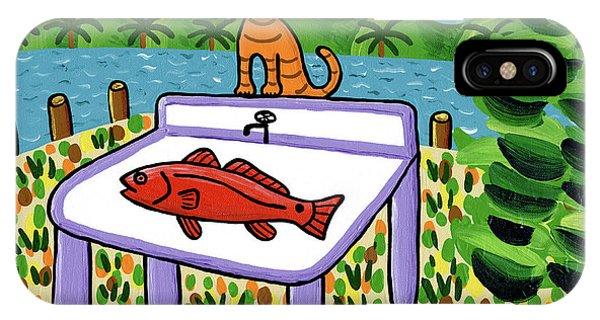 Cat's Fish - Cedar Key IPhone Case