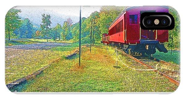 Catskill Mountain Railroad In Autumn IPhone Case