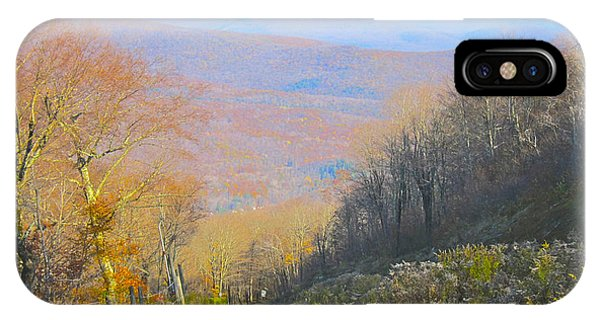 Catskill Mtn. Dirt Road IPhone Case