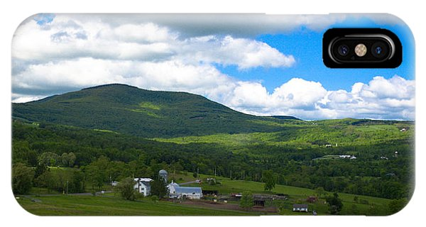 Catskill New York Farm IPhone Case