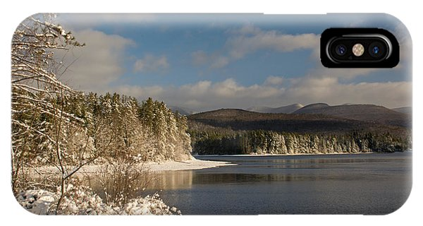 Catskills Winter Morning IPhone Case