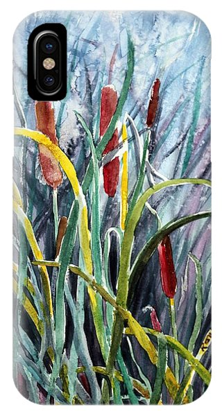 Cattails IPhone Case