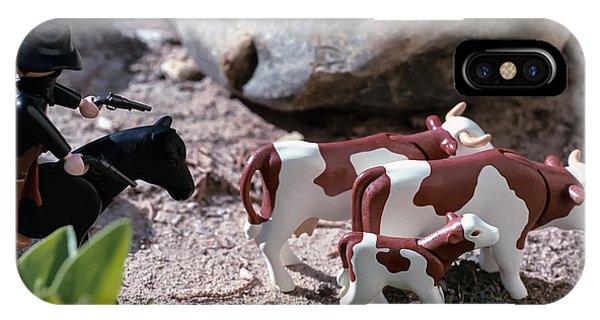 Cattle Rustler IPhone Case