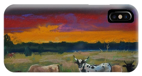 Cattle's Cadence IPhone Case