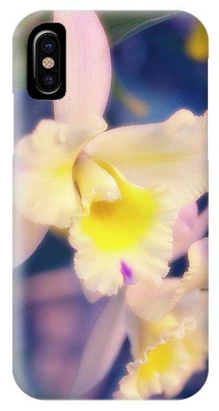 Hybrid iPhone Case - Cattleya Orchid (cattleya Hybrid) by Maria Mosolova/science Photo Library