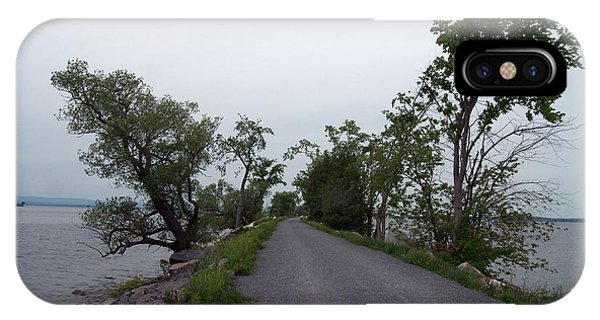 Causeway Between Mills Point And South Hero Vermont Phone Case by Mark Holden