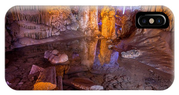 Cave Reflection IPhone Case