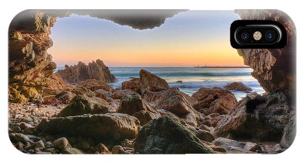 Beachside Cave IPhone Case