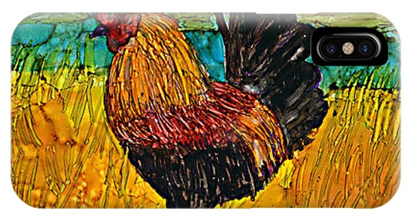 iPhone Case - Cayman Rooster by Alene Sirott-Cope