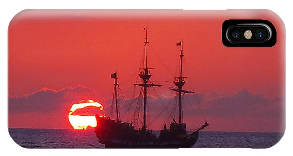 Cayman Sunset IPhone Case