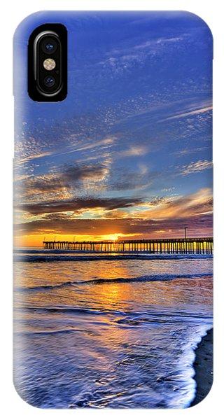 Cayucos Sunset IPhone Case