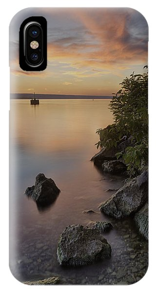 Cayuga Sunset I IPhone Case