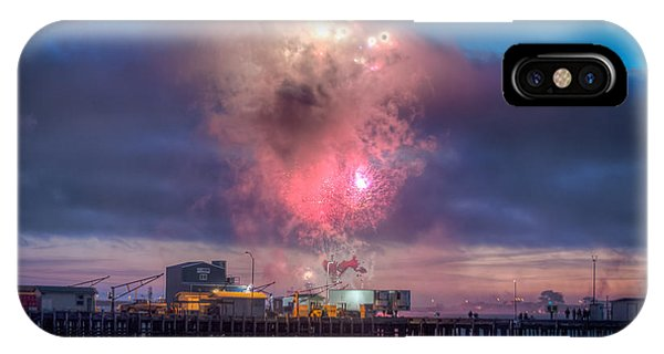 4th July iPhone Case - Cc Fireworks by Christopher Cutter