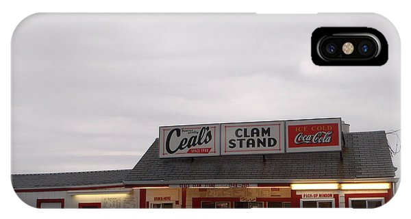 Ceal's Clam Stand Since 1948 IPhone Case