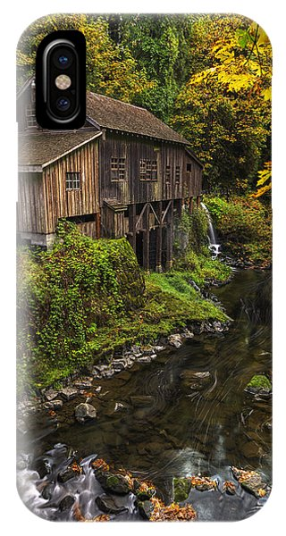Cedar Creek Grist Mill 2 IPhone Case