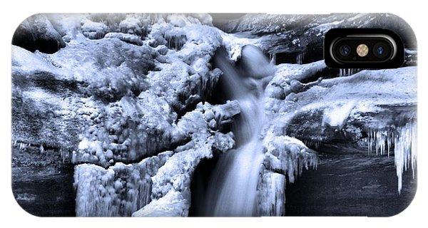 Cedar Falls In Winter IPhone Case