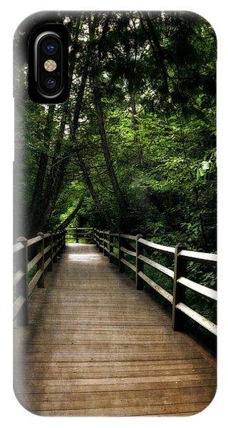 Cedar Pathway 2.0 IPhone Case