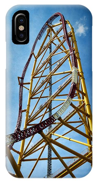 Cedar Point - Top Thrill Dragster IPhone Case