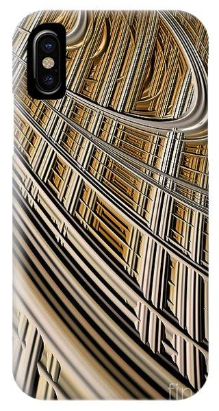 Harp iPhone Case - Celestial Harp by John Edwards