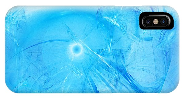 IPhone Case featuring the digital art Celestial Intelligencer by Jeff Iverson