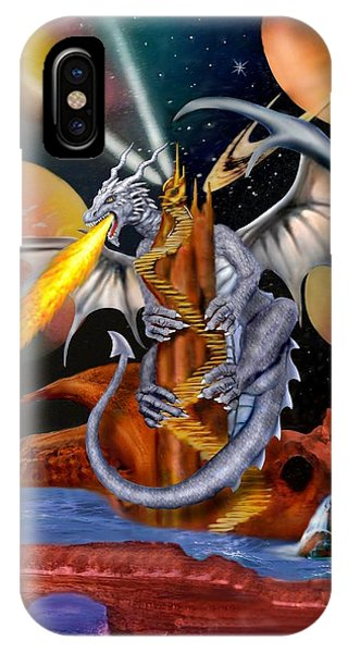 Celestian Dragon IPhone Case