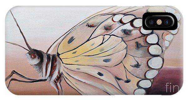 Celine's Butterfly IPhone Case