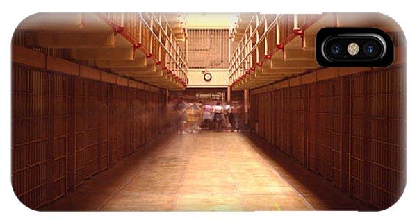 Cell Block In A Prison, Alcatraz IPhone Case