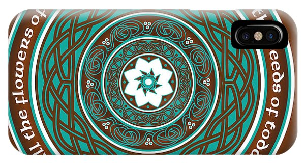 Celtic Lotus Mandala IPhone Case