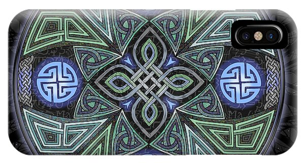 Celtic Ufo Mandala IPhone Case