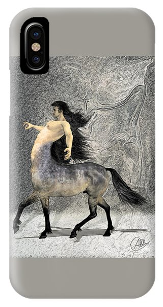 Centaur iPhone Case - Centaur by Quim Abella