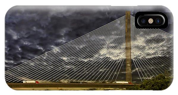 Centennial Bridge iPhone Case - Centennial Bridge by Maria Coulson