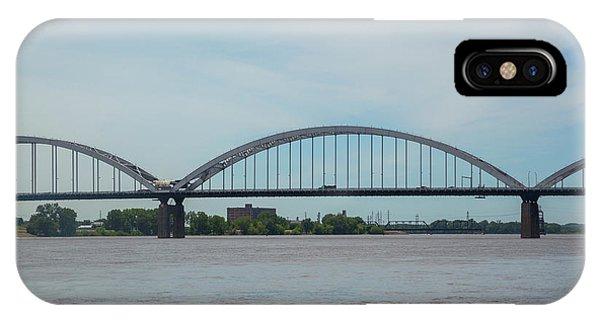 Centennial Bridge iPhone Case - Centennial Bridge Spanning by Panoramic Images