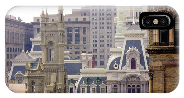 Center City Philadelphia Phone Case by Cynthia Harvey