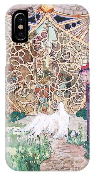 Center Of The World Phone Case by Maya Simonson
