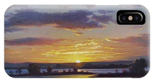 Colourful iPhone Case - Central Coast Sunset by Graham Gercken