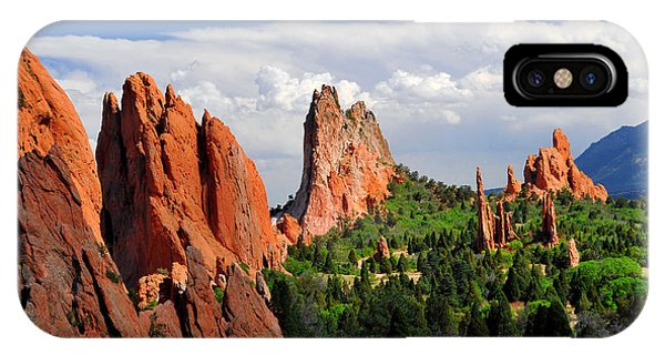 Central Garden Of The Gods Park IPhone Case