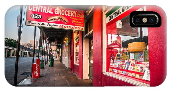 Central Grocery And Deli In New Orleans IPhone Case
