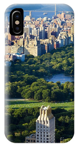 IPhone Case featuring the photograph Central Park by Brian Jannsen