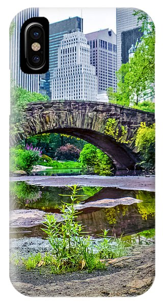 Central Park Nature Oasis IPhone Case