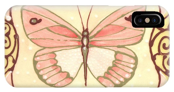 Ceramic Butterfly 2 IPhone Case