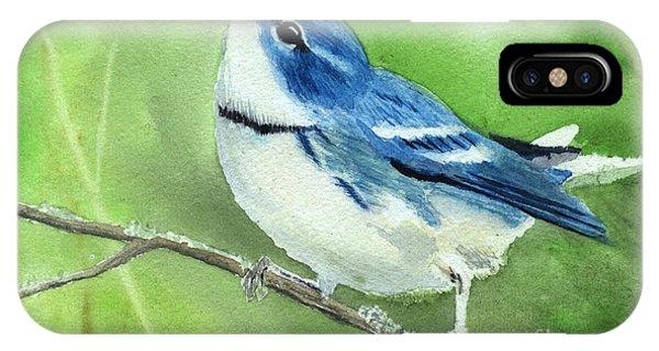 Cerulean Warbler IPhone Case