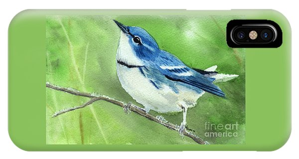 Cerulean Warbler IPhone Case