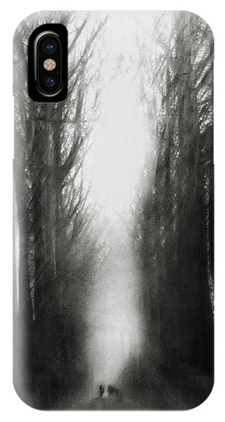 Alley iPhone Case - Cezanne's Walk by Yvette Depaepe